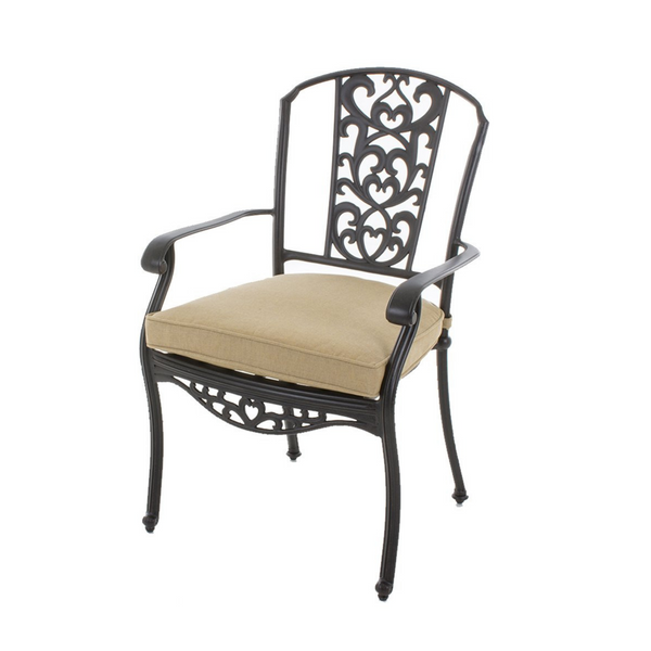 Balwyn Cast Aluminium Dining Chair