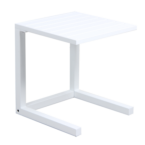 C Side Table - white