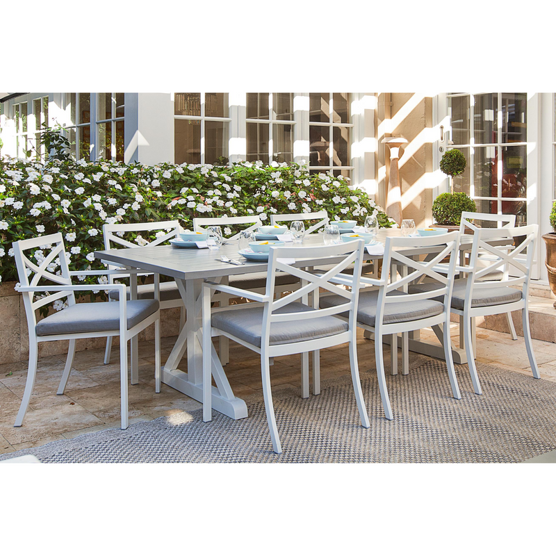 baroque bridgeport dining 9pce