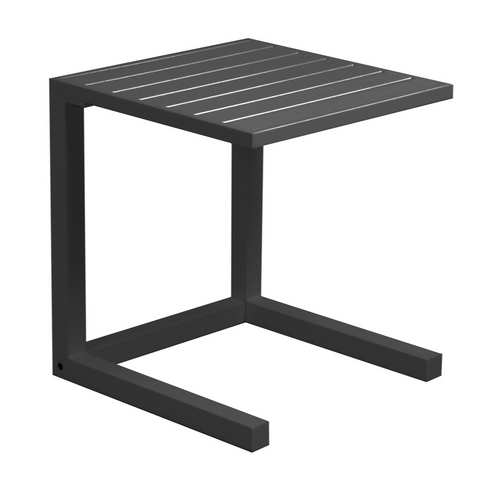 C Side Table - gunmetal