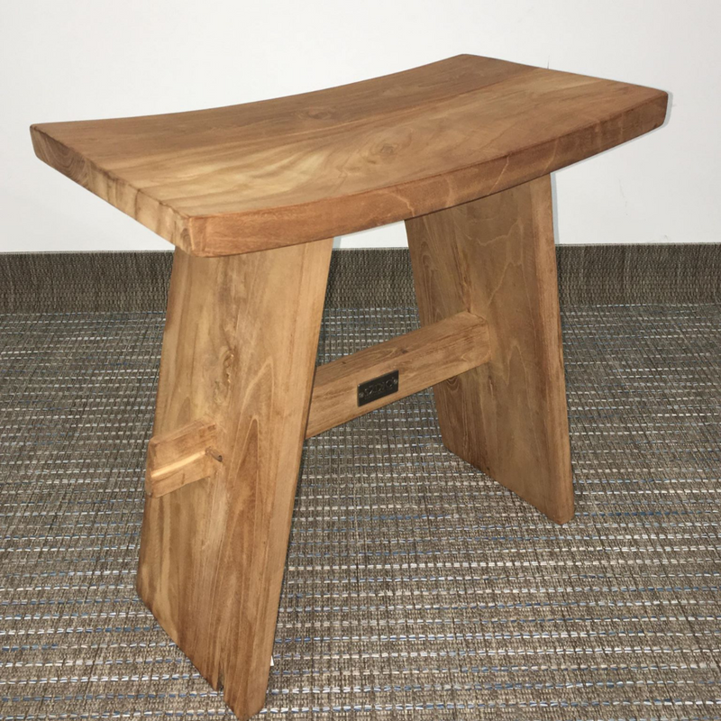 Teak Cow Chair / Table