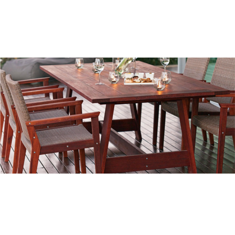 Salerno Kwila Dining Table