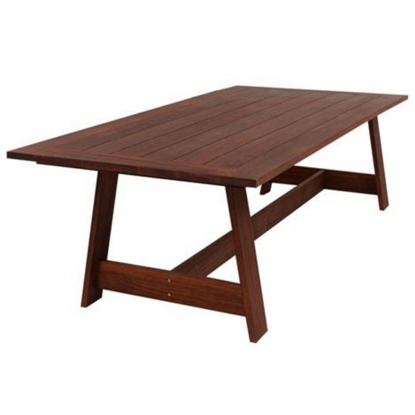 Salerno Kwila Dining Table 2.1 x 1.07m