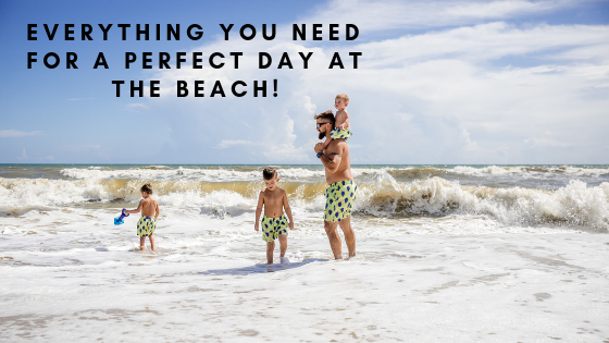 Everything you need for a perfect day at the beach!