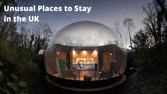 Unusual Places to Stay in the UK