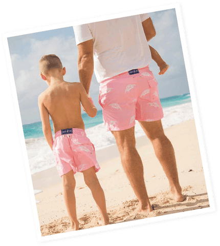 Father and son shorts