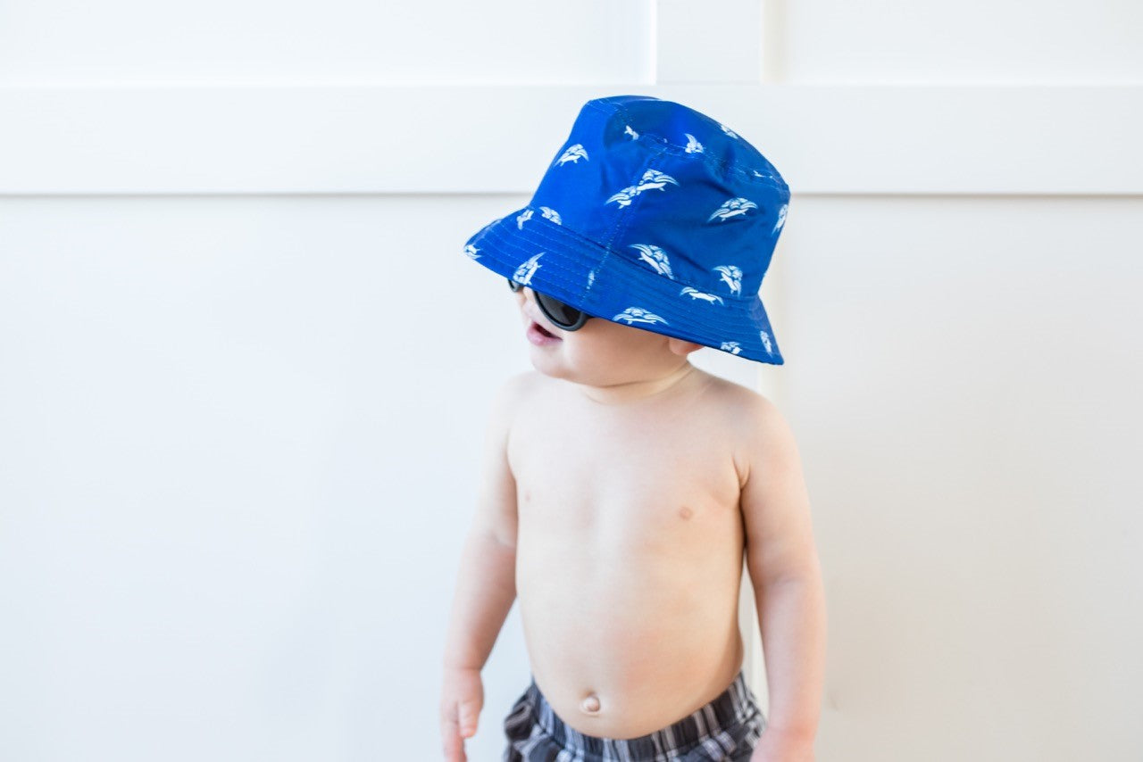 Kids Turtle Hat, Blue