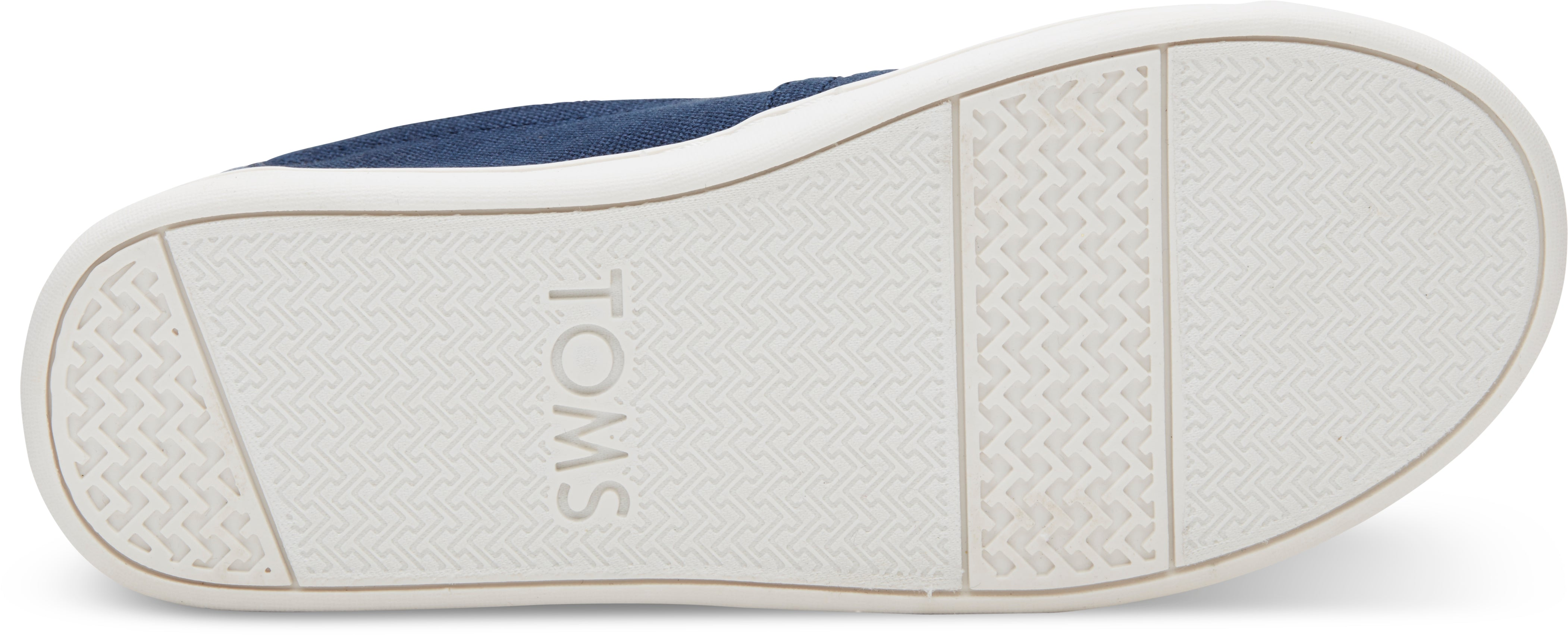 TOMS Youth Navy Canvas Shoes