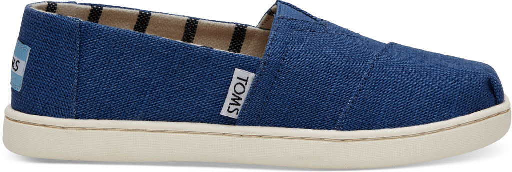 TOMS Youth Blue Canvas - RobertandSon