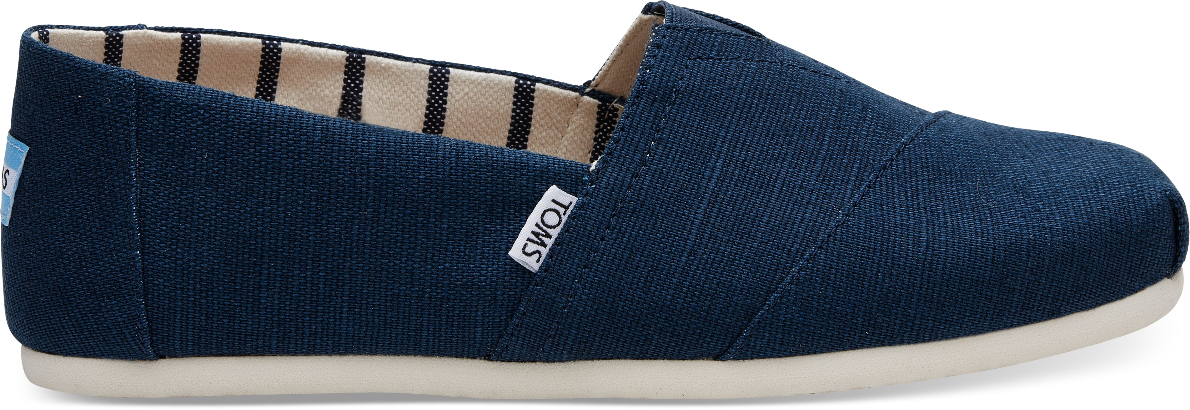 TOMS Majolica Blue Heritage Canvas