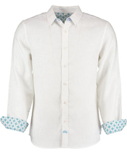 Mens Tobias Shirt, White