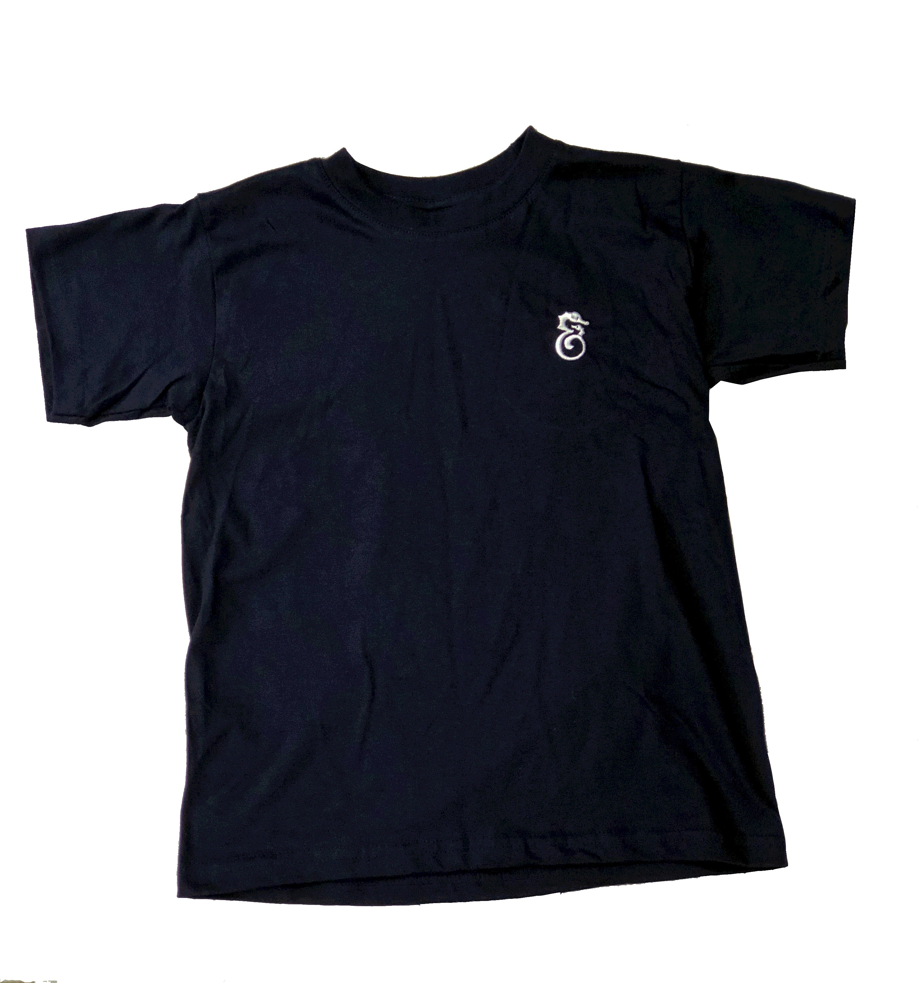 Children's Robert & Son Navy Cotton T-Shirt