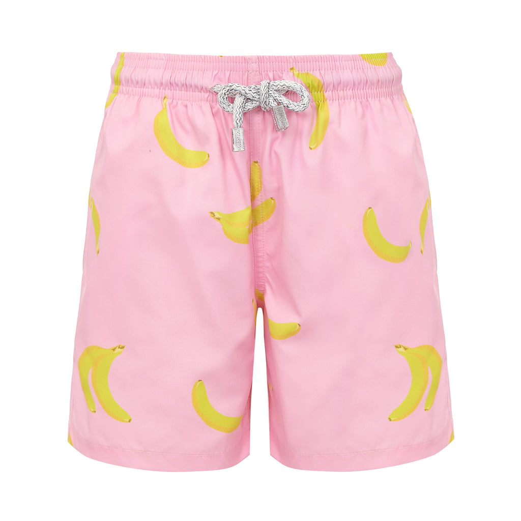 Pink Bananas- Baby Swim Shorts