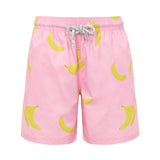 Pink Bananas - Boys Swim Shorts