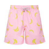 Pink Bananas - Men's Designer Swim Shorts - RobertandSon