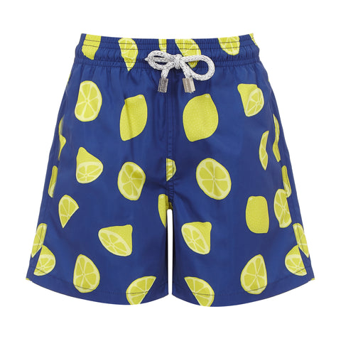 Blue Lemons - Boys  Swim Shorts