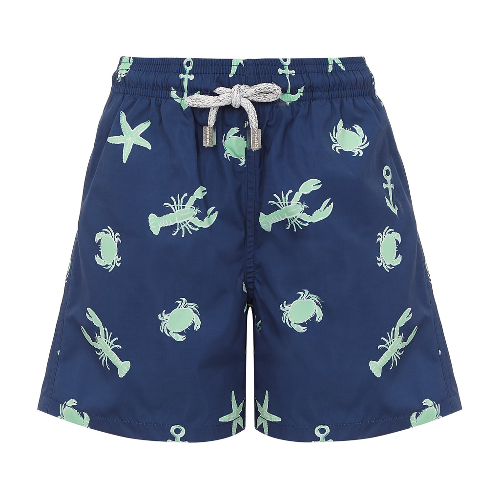Navy Ocean Adventure - Boys Swim Shorts - RobertandSon