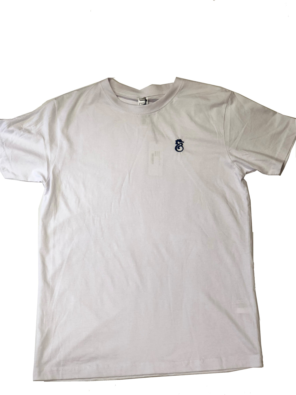 Robert & Son White Cotton T-Shirt