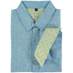 Mens Tobias Shirt, Light Blue