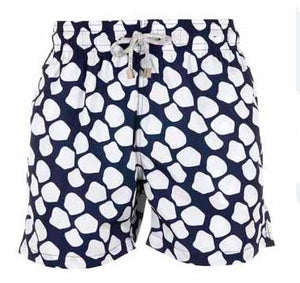 Blue Giraffe - Men's Designer Swim Shorts - RobertandSon