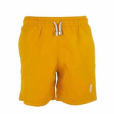 Yellow Plain Boys Swim Shorts Front
