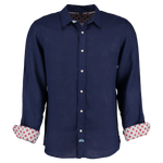 Mens Tobias Shirt, Navy