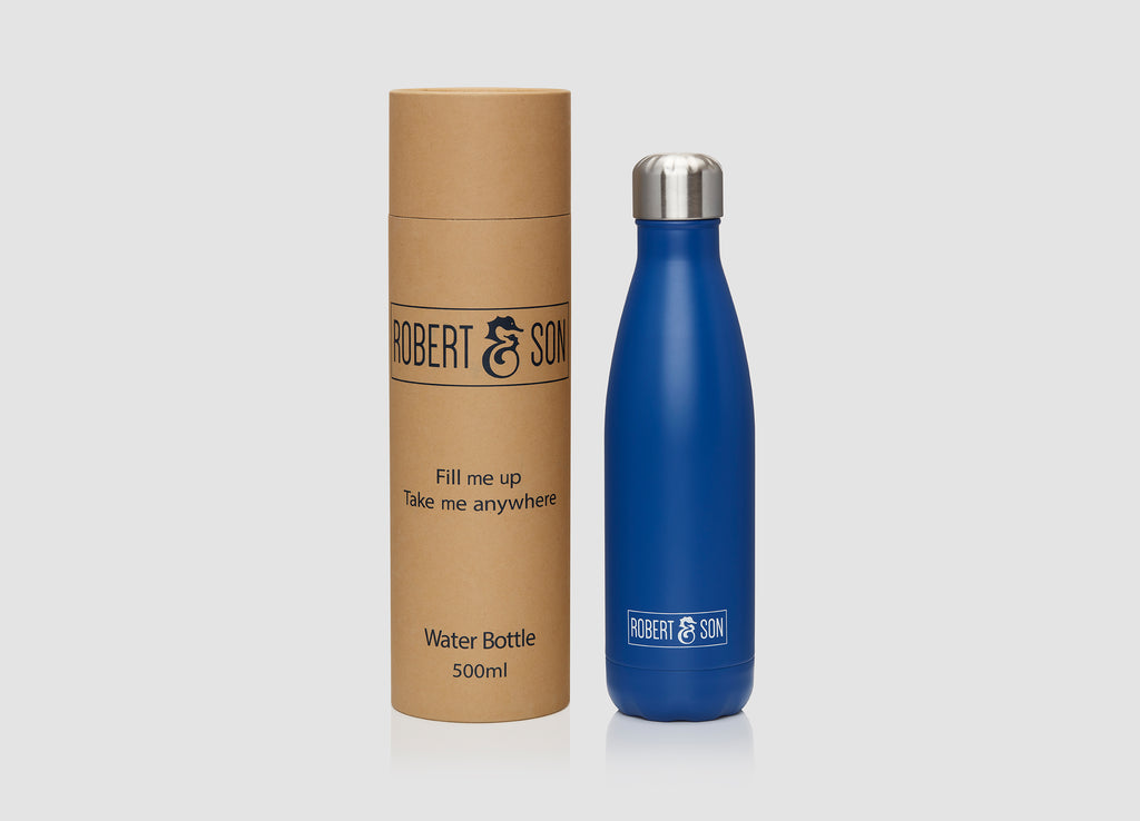 Blue Water Bottle - 500ml