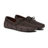 Mens Swims Brown Braided Lace Loafer - RobertandSon