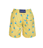 Yellow Parrot - Baby Swim Shorts