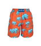 Red Elephants - Boy's Swim Shorts