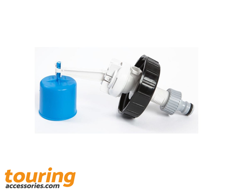 Aqua Roll Mains Adaptor Ball Valve | Water & Waste Travel Accessories