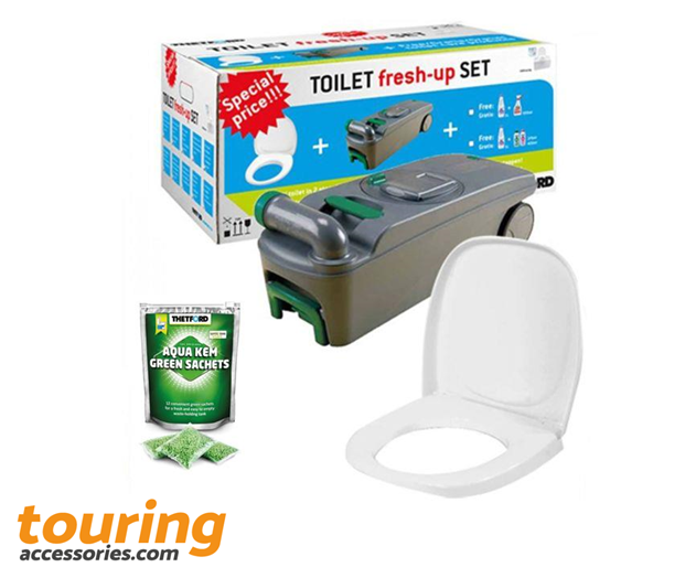 Thetford C400 Toilet Fresh Up Set