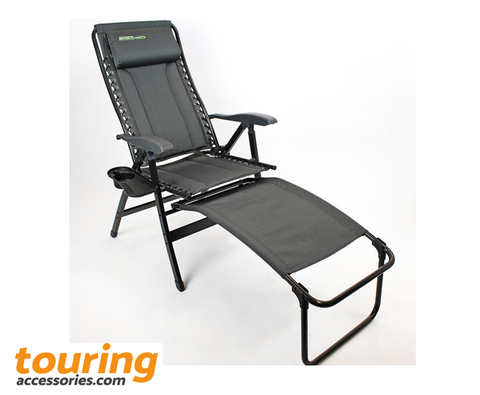 Outdoor Revolution's 'Sam Remo' Luxurious Fold Away Suspension Chair & Footstool