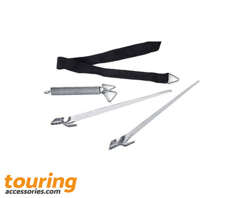Fiamma Tie Down Awning Kit Black