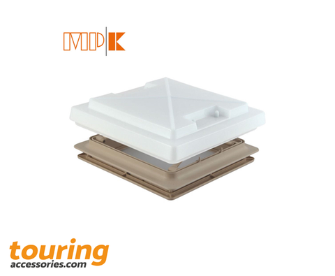 MPK Opaque Roof Light With Flynet Beige 280 x 280mm