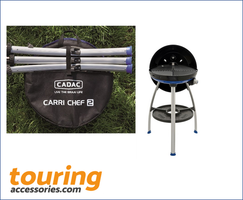CARRI CHEF 2 BBQ/CHEF PAN COMBO