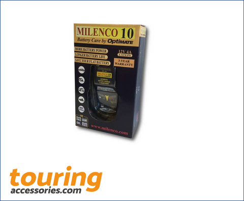 Milenco 10 by Optimate - Multi Step Smart Charger/ Maintainer