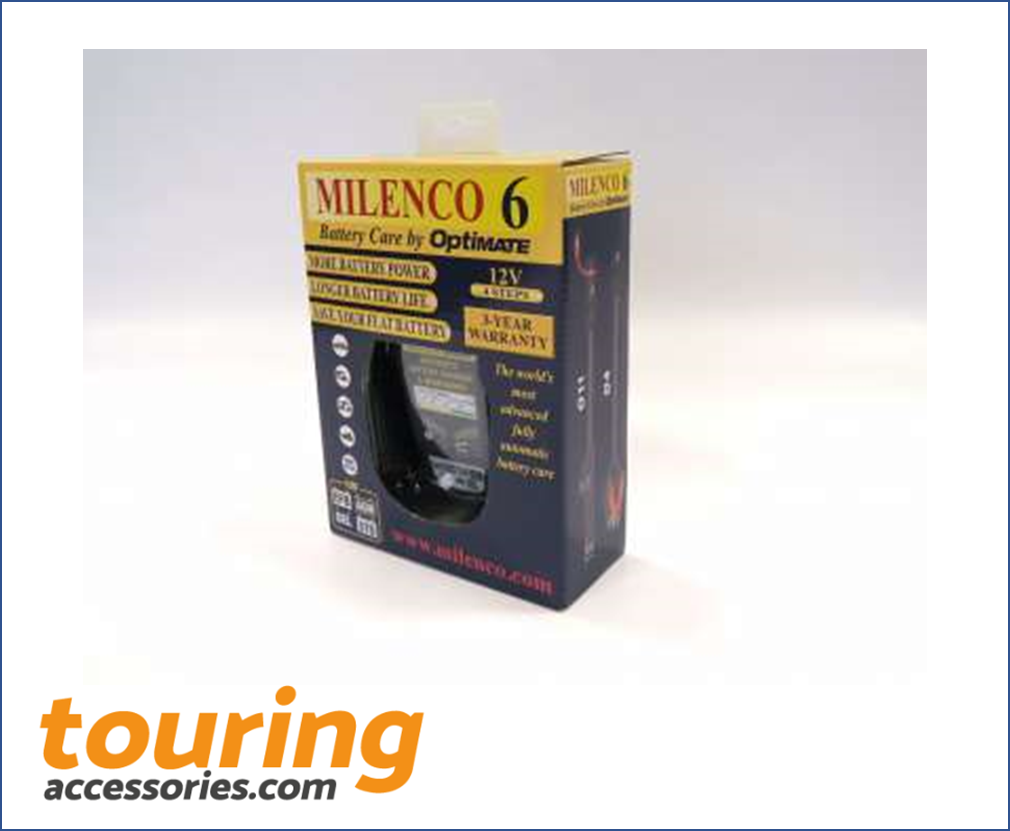 Milenco 6 by Optimate - Multi Step Smart Charger / Maintainer
