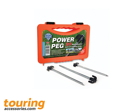 Blue Diamond Power Pegs Case of 20 Hard Ground