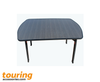 Premium Camping Table XL with Folding Legs