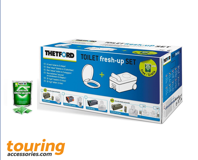 Thetford C200 Toilet Fresh Up Set