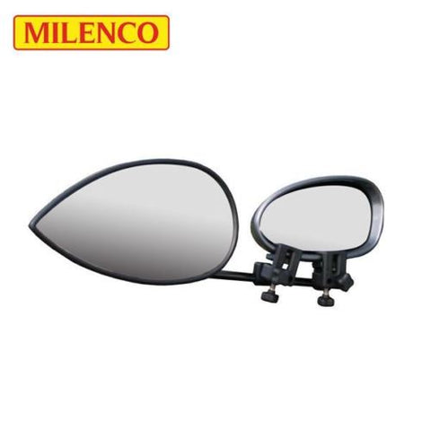Single Milenco Aero 3 Flat Glass Towing Mirror Caravan Towing Mirror 1588