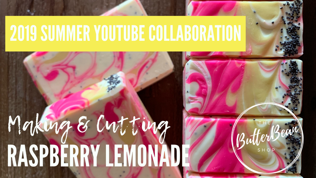 Watch Me Make Raspberry Lemonade Handcrafted Artisan Soap