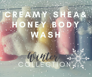 Creamy Honey & Shea Body Wash (Winter Collection)