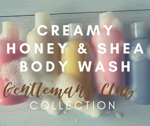 Creamy Honey & Shea Body Wash (Gentlemen's Club Collection)