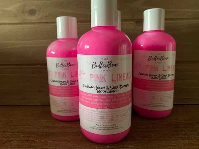 Hot Pink Limeade Creamy Honey & Shea Body Wash