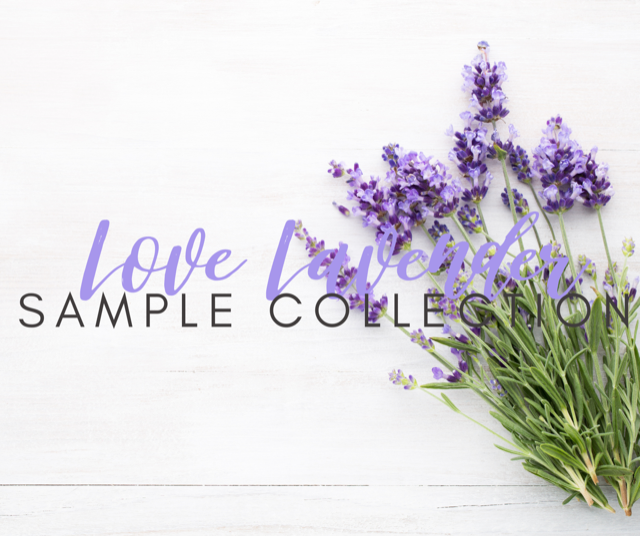 The Love Lavender Sample Collection