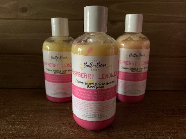 Raspberry Lemonade Creamy Honey & Shea Body Wash