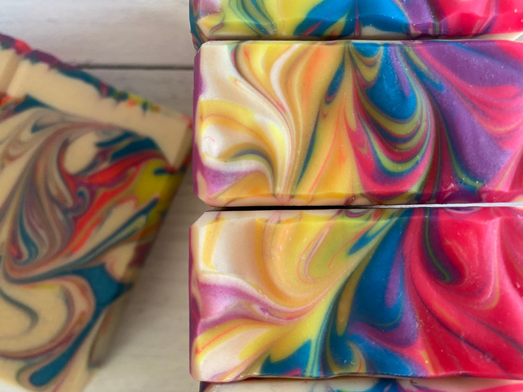 Fruit Punch Hand Crafted Artisan Soap