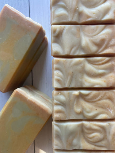 Apple Cider Vinegar, Avocado, Matcha, and Turmeric Handcrafted Artisan Soap